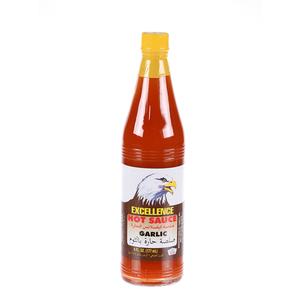 Excellence Hot Sauce Garlic 6oz