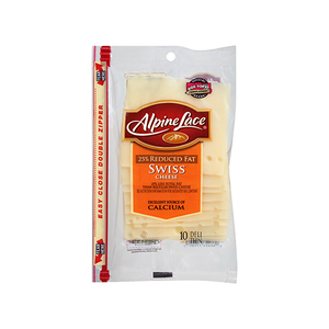 American Heritage Singles Swiss White Cheese 227g