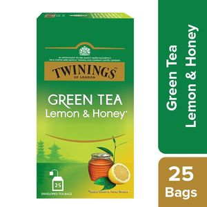 Twinings Green Tea Lemon Honey 25s