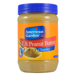 American Garden Chunky Peanut Butter 794g