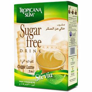 Tropicana Slim Sugar Café Latte 140G