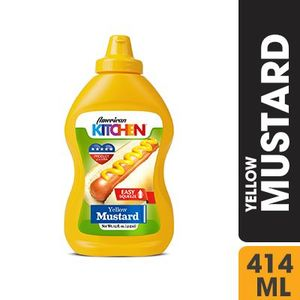 American Kitchen Yellow Mustard  414ml