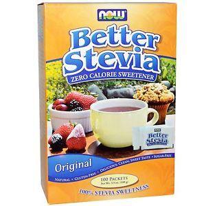Now Better Stevia 100g