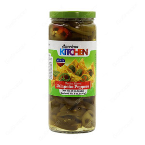 Ak Sliced Jalapeno 16oz