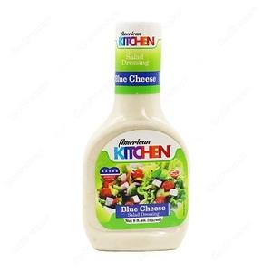 American Kitchen Salad Dressing Blue Cheese 8 oz