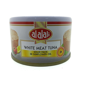 Al Alali White Meat Tuna Solid Pack In Sunflower Oil 85g