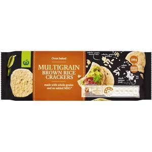 Hunters Brown Rice Crackers Gourmet Multigrain 100gm