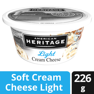 American Heritage Light Soft Cream Cheese 8oz