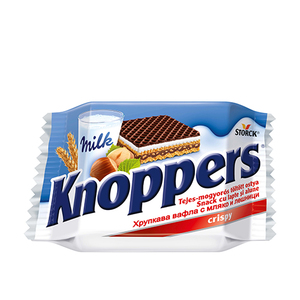 Knoppers Wafer With Milk 24x75g