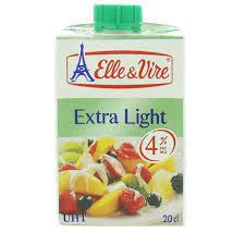 Elle & Vire UHT Cream 200ml