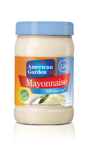 American Garden US Mayonnaise Lite 16oz - 473ml
