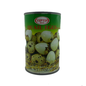 Teptip Quail Eggs In Water 425g