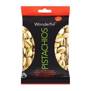 Wonderful Sweet Chilli Pistachios 220g