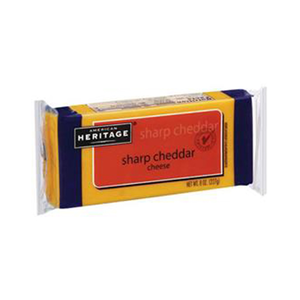 American Heritage Sharp Cheddar Cheese 227g