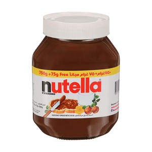 Nutella Hazelnut Spread with Cocoa 750+75g