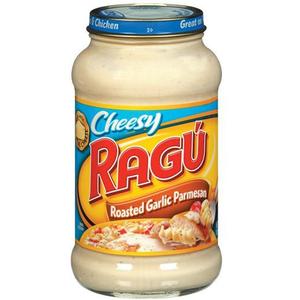 Ragu Roast Garlic Parmesan 454gm cheese