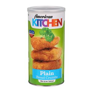 American Garden Bread Crumbs Plain 425g