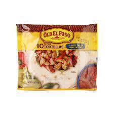 Old El Paso 10 Flour Tortillas 232g