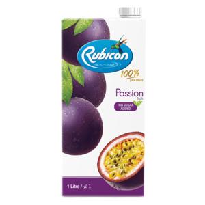 Rubicon Juice Passion No Sugar Added 1ltr