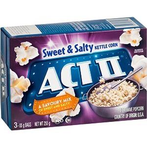 Act Ii Sweet N Salty Popcorn 255gm