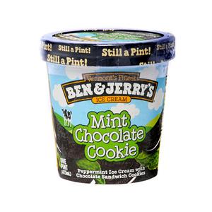 Ben & Jerry'S Ice Cream, Mint Chocolate Cookie 473ml
