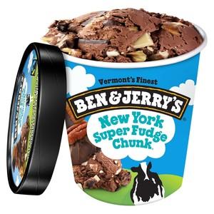 Ben & Jerry's New York Super Fudge 473ml
