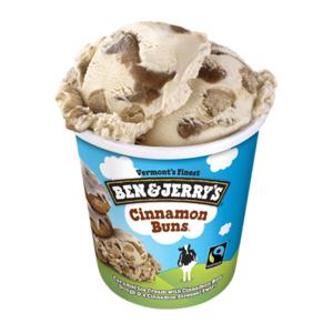 Ben And Jerry'S Cinnamon Buns Ice Cream 473ml