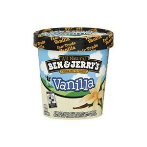 Ben And Jerry'S Vanilla Ice Cream 473ml