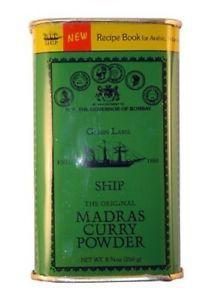 Madras Curry Powder 250gm