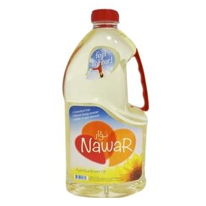 Nawar Sun Flower Oil Bottle  1.8L