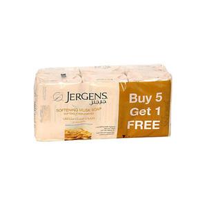 Jergens Anti Musk Soap 6x125g