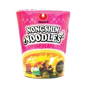 Nongshim Noodle Shrimp Flavor 65gm (cup)