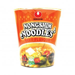 Nongshim Noodle Beef Flavour 65gm (cup)
