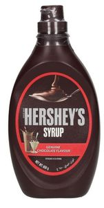 Hersheys Genuine Chocolate Syrup 650g
