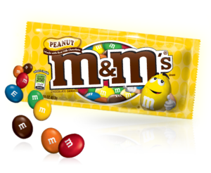 M&M's Peanut Chocolate Pouch 45g
