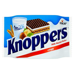 Stock Knoppers Milk 25 gm