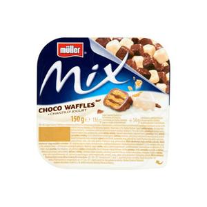 Muller Mix Chocolate Waffles 150g