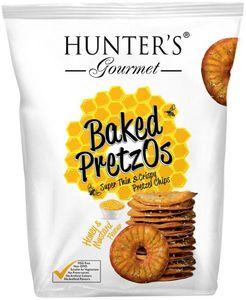Hunter's Baked Pretzos Honey Mustard 160g