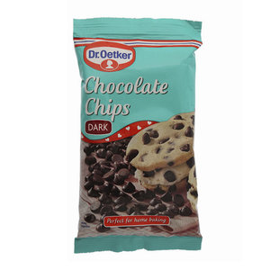 Dr Oetker Real Chocolate Chips Plain 100g