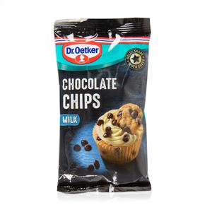 Dr Oetker Real Chocolate Chips Milk 100g
