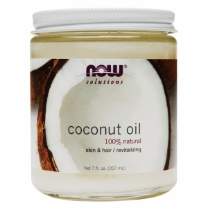 Now Solutions Coconut Oil Natural Cream 207ml