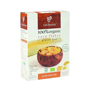 Virchuous Organic Corn Flakes 375g