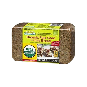 Mestemacher Organic Flaxseed And Chia Bread 9x350g