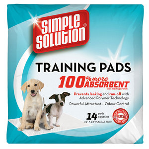 Simple Solution Puppy Training Pads 14pc