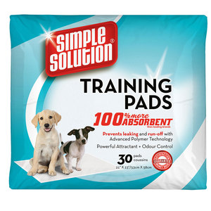 Simple Solution Puppy Training Pads 30pc