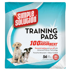 Simple Solution Puppy Training Pads 56pc