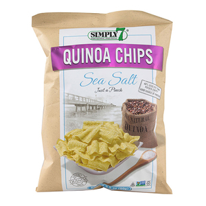Simply 7 Chips Quinoa Sea Salt 3.5oz