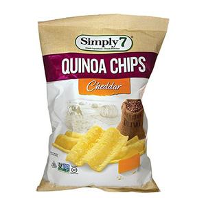 Simply 7 Chips Quinoa Chaddar 3.5oz