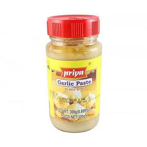 Priya Garlic Paste 300g