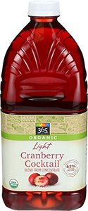 Organic A/V W/Cranberrry 1pkt